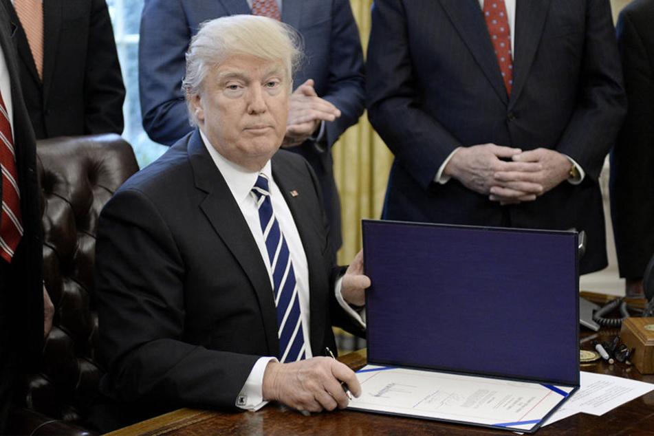 US-Präsident Donald Trump hatte im Wahlkampf noch die Annerkennung der Krim-Annexion in Aussicht gestellt.