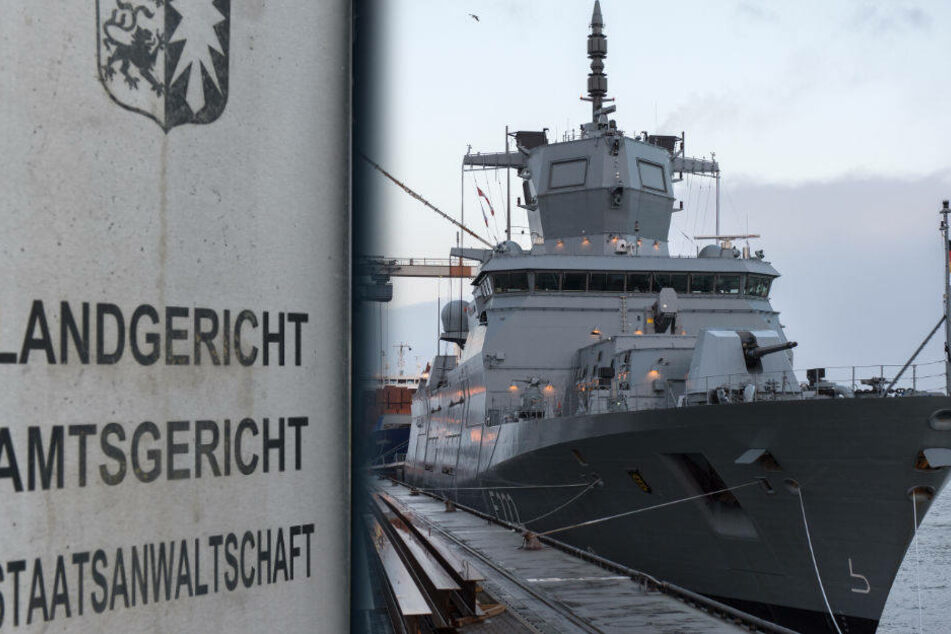 In Flensburg muss sich ein Marine-Ausbilder vor Gericht verantworten. (Symbolbild)