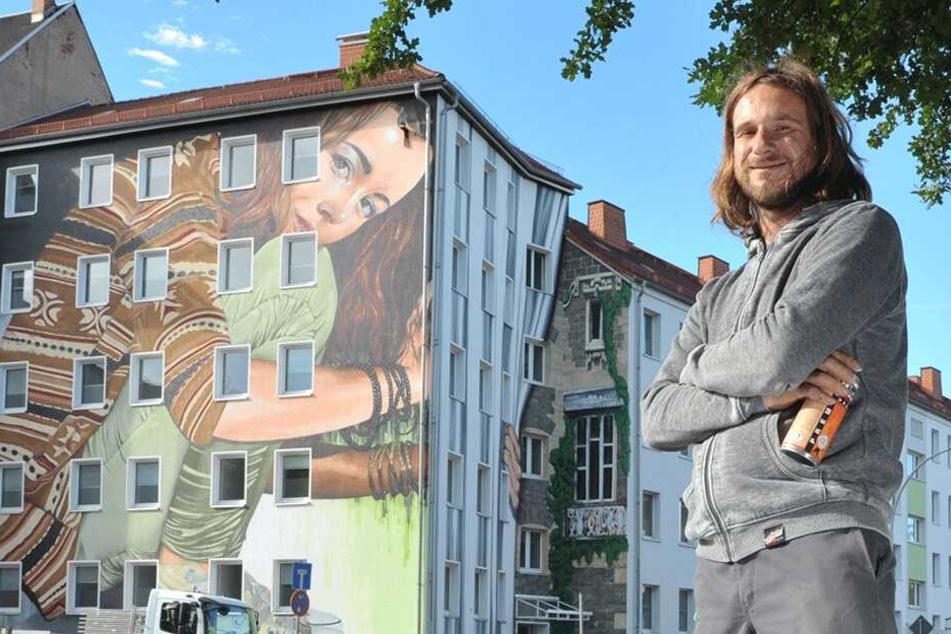 Kunstwerke statt Schmierereien: 100 neue Graffiti für Chemnitz