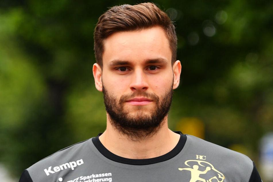 Sebastian Greß war mit sechs Treffern der erfolgreichste Werfer des HCE.