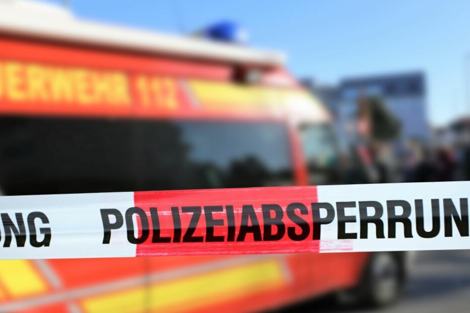 Ein Polizei-Absperrband (Symbolbild)