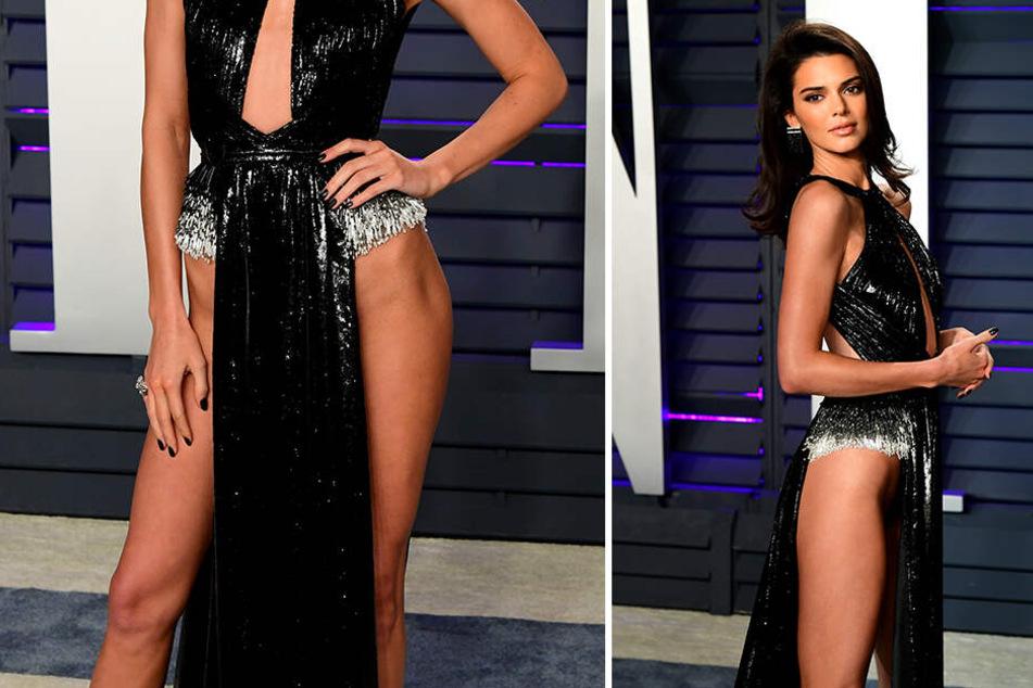 Nackedei Kendall Jenner kreuzt auf Oscar-Party ohne Slip auf