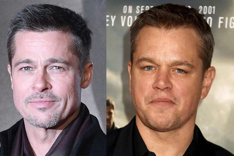 Brad Pitt (54) und Matt Damon (47) haben winzige Auftritte in Deadpool 2.