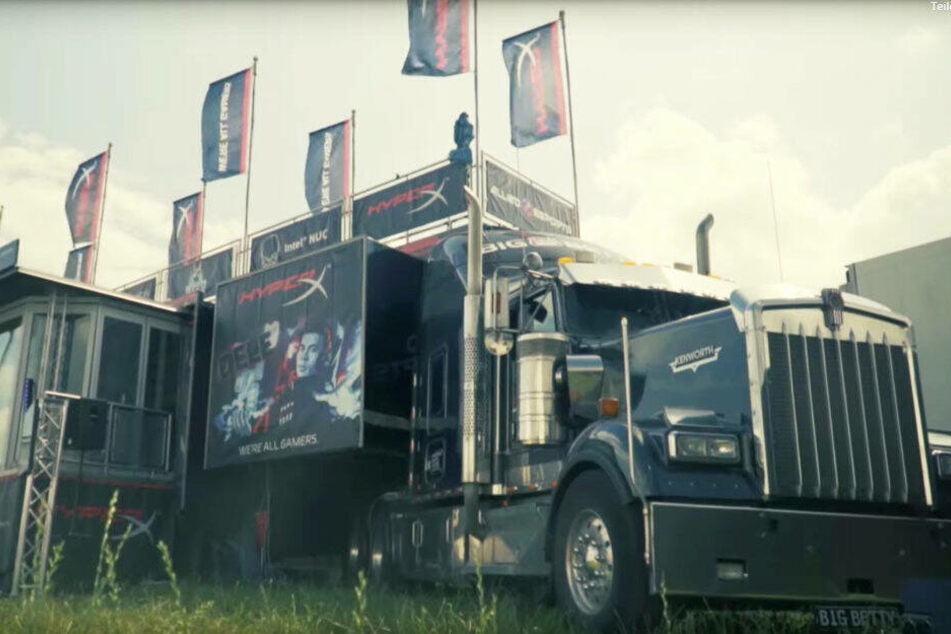 Der HyperX eSports Truck.