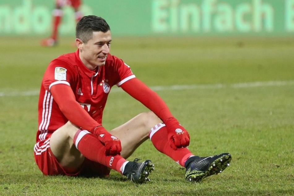 Bayern bester Torjäger: Robert Lewandwoski.