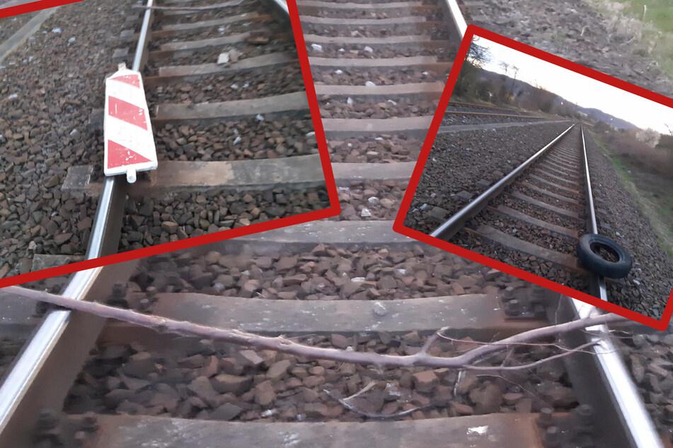 Im Stundentakt: Übeltäter blockieren Gleise mit verschiedenen Gegenständen