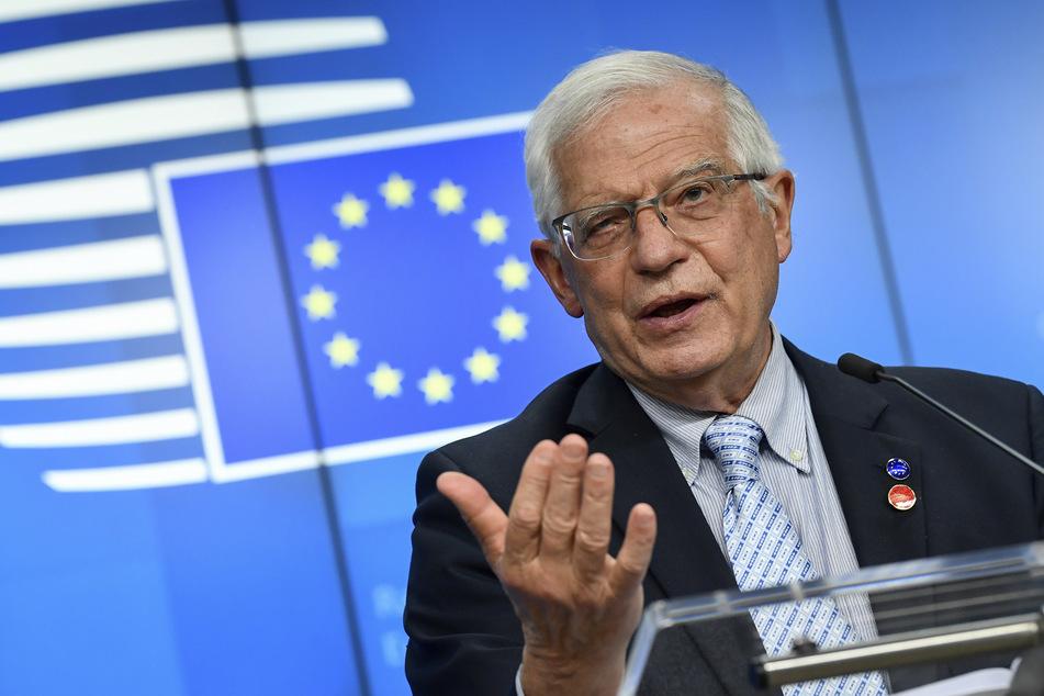 Der EU-Außenbeauftragte Josep Borrell (74).