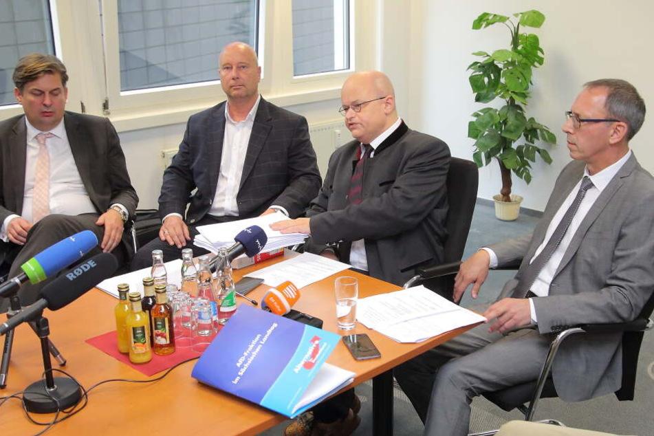 AfD geht jetzt massiv gegen Listenstreichung vor