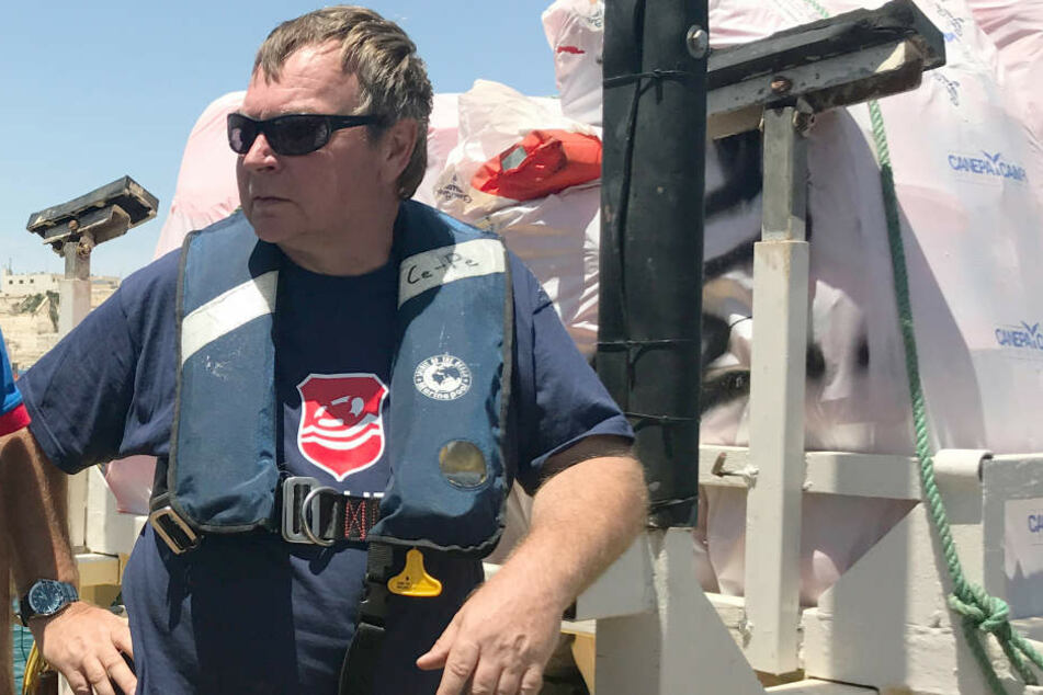 """""""Lifeline""""-Kapitän Reisch ist gegen Kaution wieder auf freiem Fuß."""