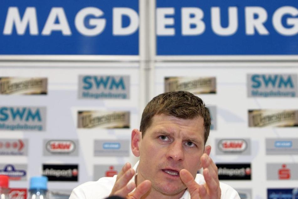 In Magdeburg feierte Baumgart seinen bislang größten Erfolg als Trainer.