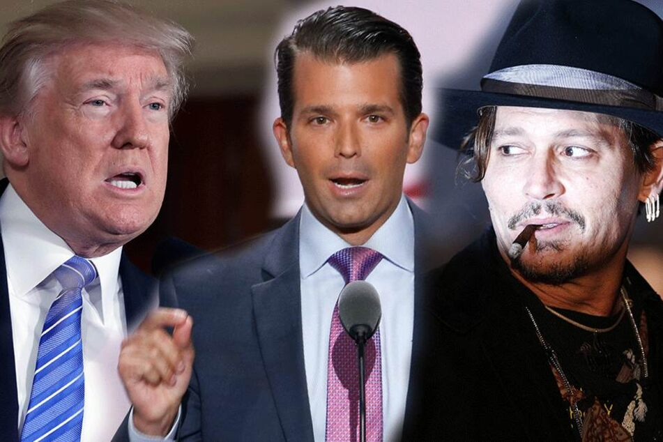 Donald Trump Junior kämpft für Karriereende von Johnny Depp