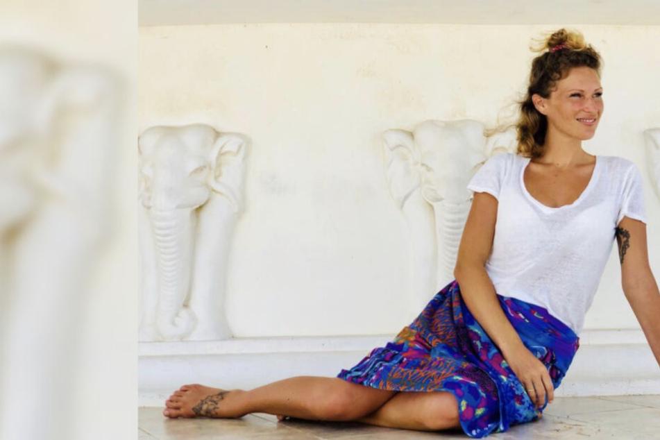 Fast nackt: Janni Hönscheid zeigt ihren Babybauch in sexy Dessous