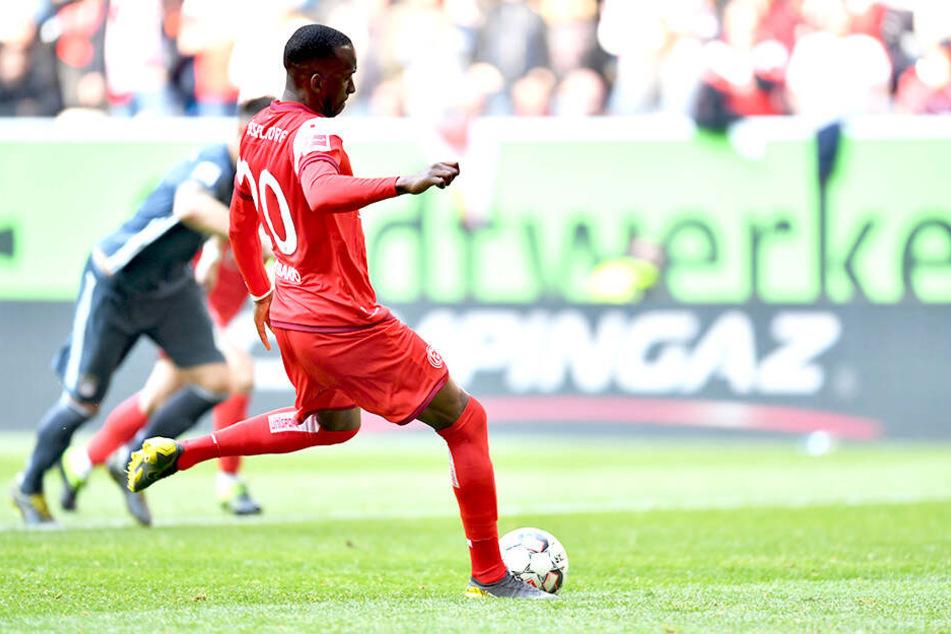 Dodi Lukebakio traf auch im Rückspiel gegen die Bayern, aber nur ein einziges Mal.