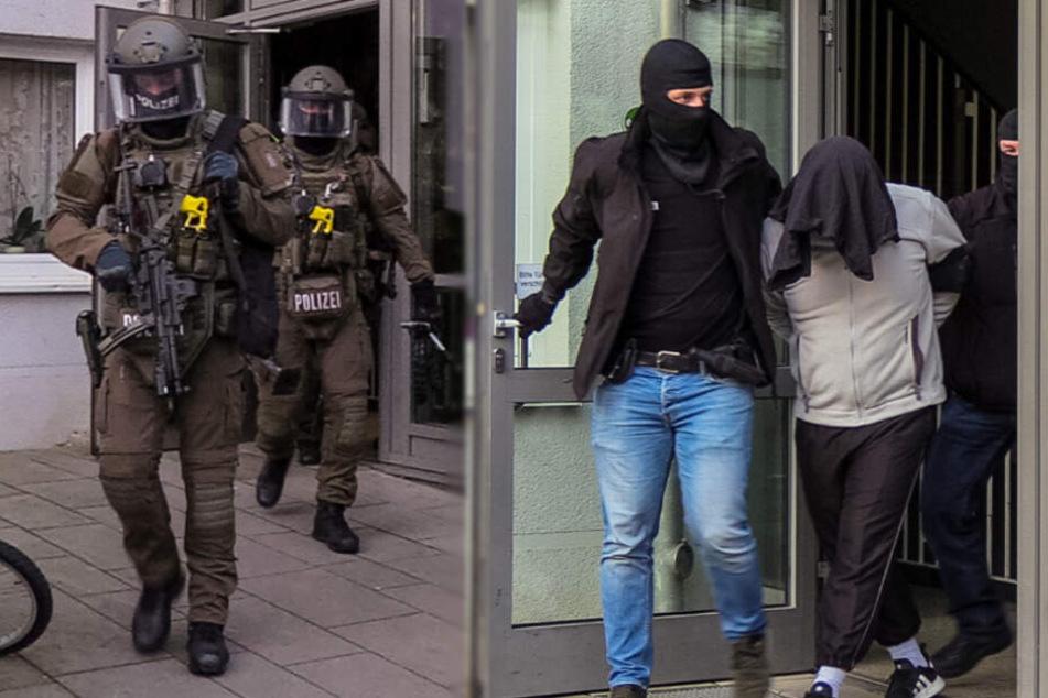 SEK stürmt Wohnung von Terror-Verdächtigem