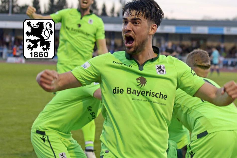 Löwen-Deal perfekt! Aaron Berzel bleibt dem TSV 1860 treu