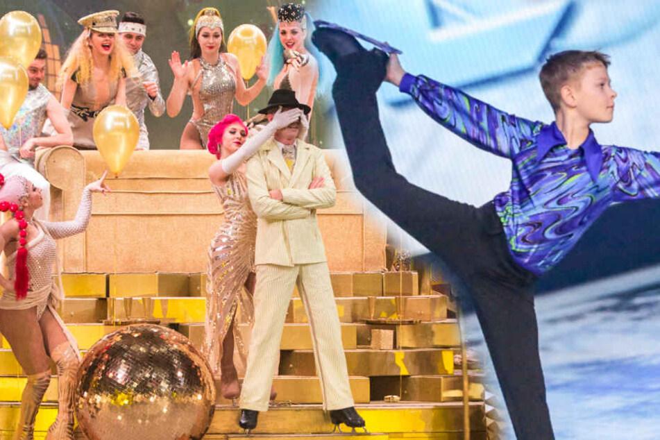 """Dresden: """"Holiday on Ice""""-Premiere: Der große Tag des kleinen Lorenz"""