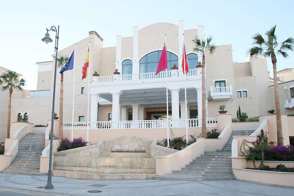 Ein Blick auf das noble Auer Teamhotel im La Torre Golf Resort.