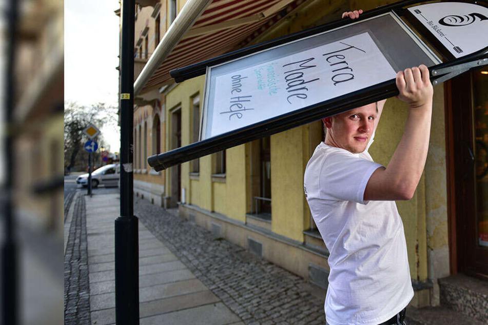 Riesenzoff um kleinen Aufsteller: Bäcker verärgert über Zettelwirtschaft
