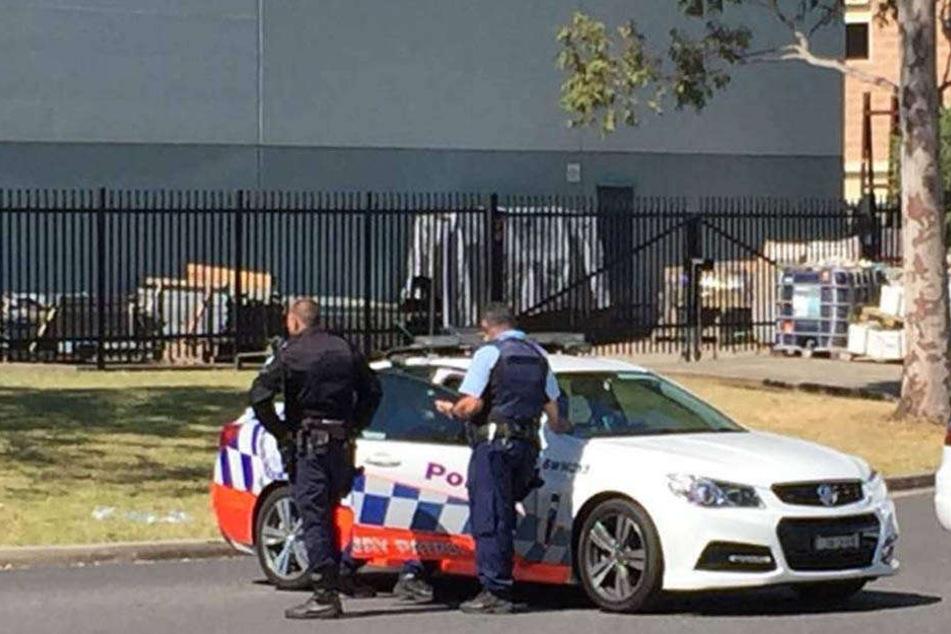 Australische Polizisten stoppten einen Temposünder (Symbolbild).