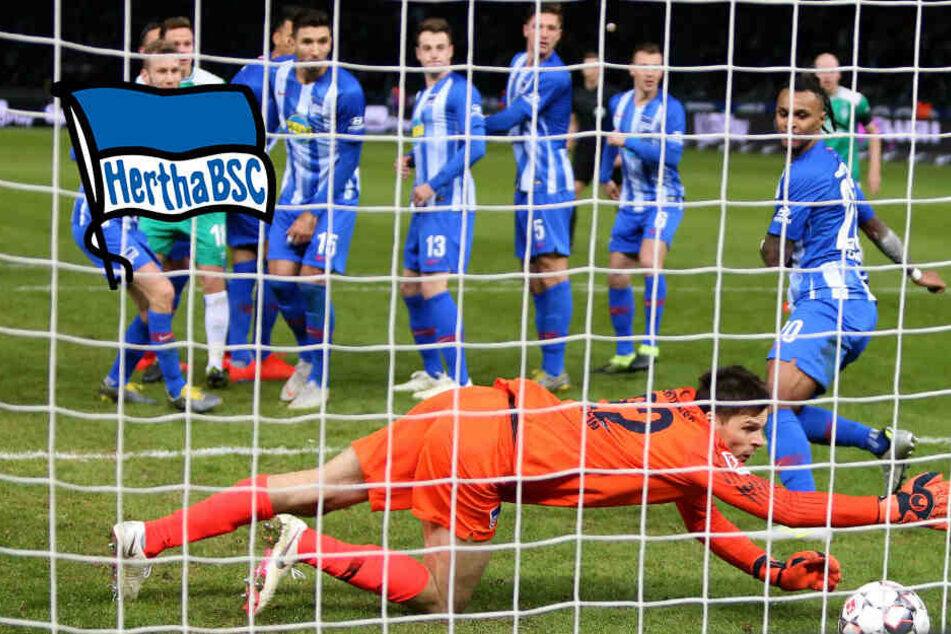 """""""Unfassbar bitter"""": Tor-Opa Pizarro raubt Hertha den Sieg"""