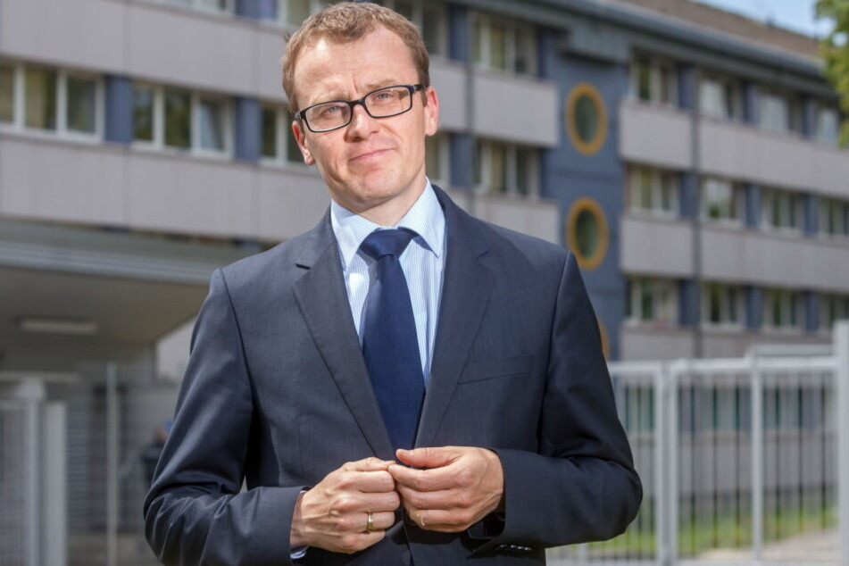 Alexander Krauß freut sich über den Zuschlag für das Krankenhaus in Olbernhau.