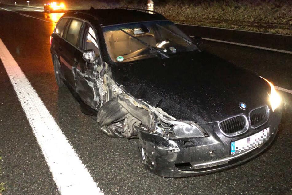 Auf der Autobahn 93 ist es in Bayern zu einem Verkehrsunfall gekommen.