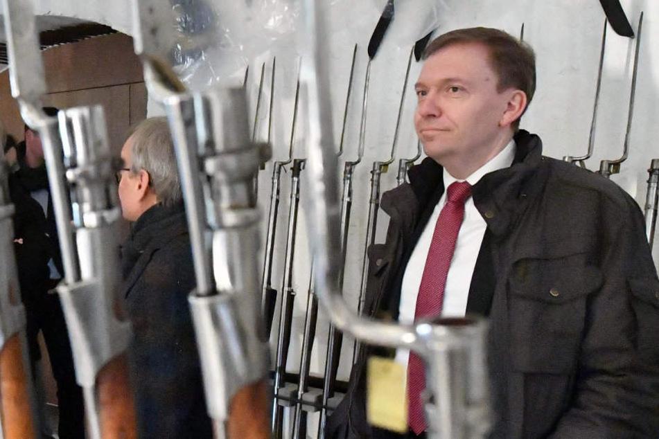 Matthias Hey (SPD) sorgt sich um das Image seiner Landespartei.