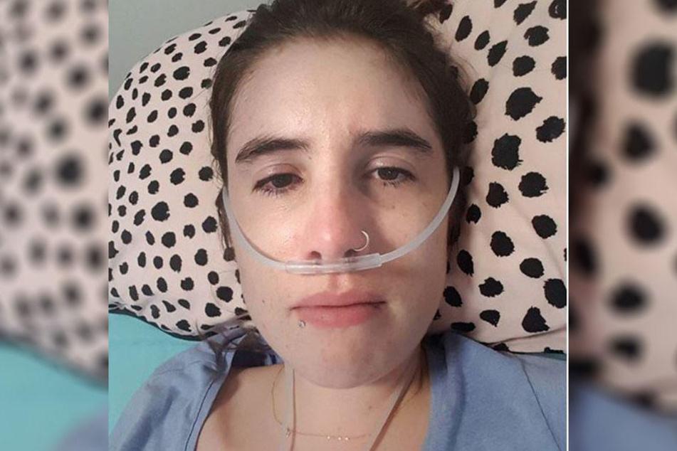 Holly Warland (27) leidet unter der unheilbaren Krankheit Gliedergürteldystrophie.