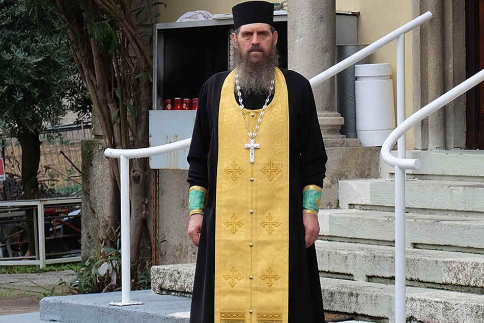 Priester Gheorghe Velescu ist Leiter der Rumänisch-Orthodoxen Gemeinde von Bergamo.