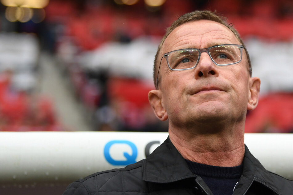 Ralf Rangnick und der Aufsichtsrat der Eintracht hatten unterschiedliche Auffassungen.