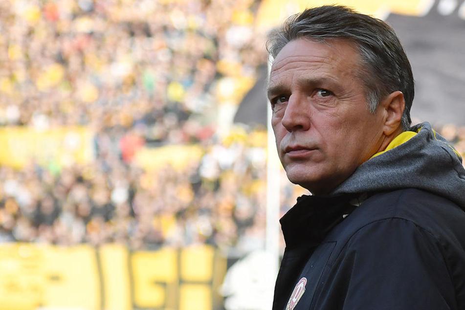 Bekommt Dynamo-Trainer Uwe Neuhaus zu seinem 57. Geburtstag einen Sieg geschenkt?