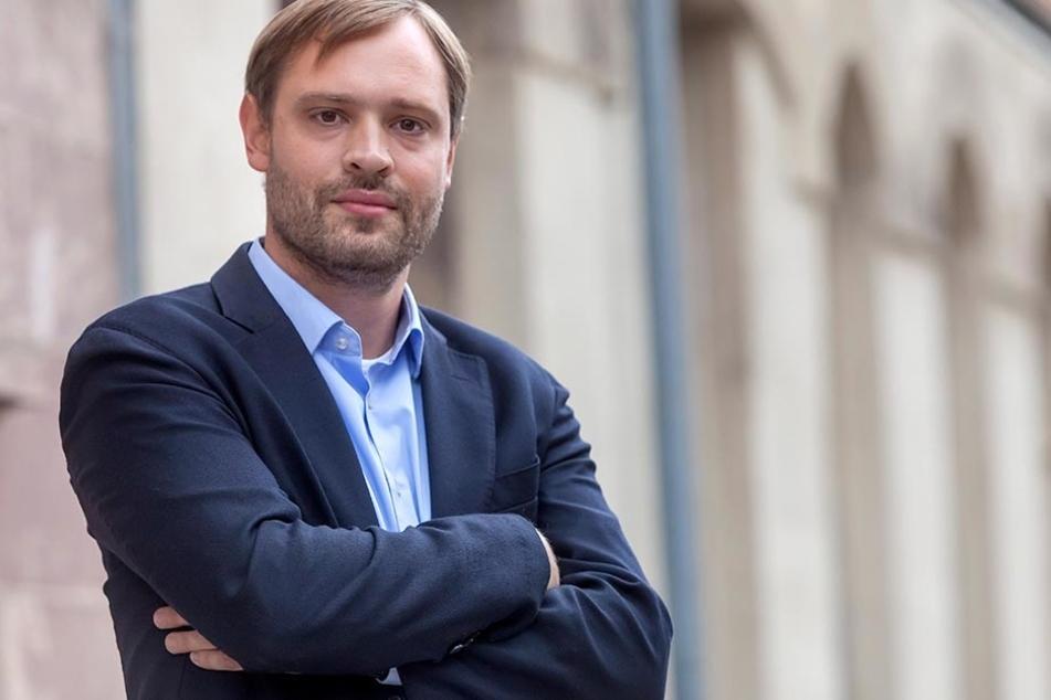 CDU-Landtagsabgeordneter Alexander Dierks (29)