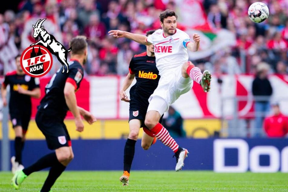 Torfestival mit bitterem Ausgang für Köln! FC unterliegt Regensburg in Unterzahl