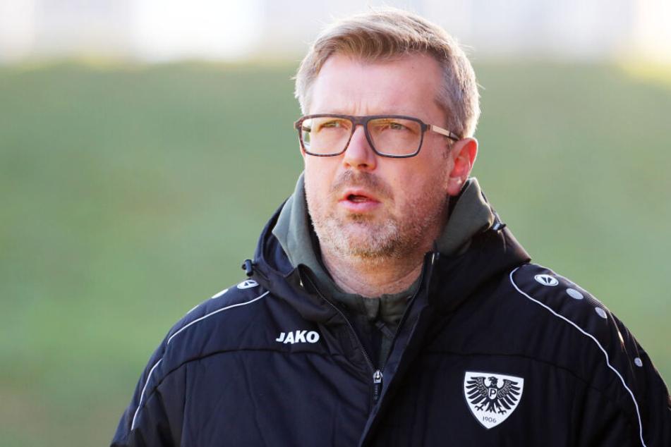 Sven Hübscher ist nicht länger Trainer vom SC Preußen Münster.