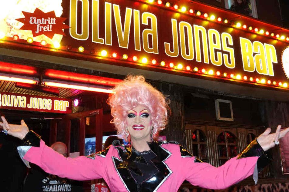 Olivia Jones besitzt auf St. Pauli mehrere Bars.