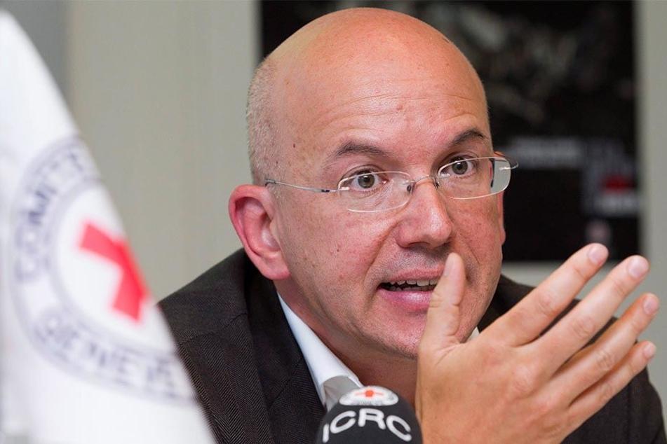Yves Daccord, Generalsekretär des Komitee des Internationalen Roten Kreuzes.
