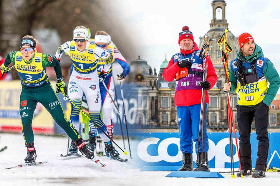 Ski-Weltcup in Dresden: Deutsche Langläufer gehen wie erwartet leer aus!