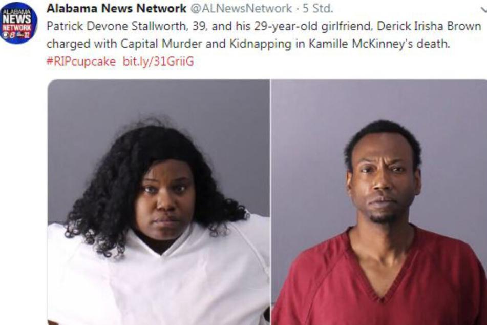 Hier die beiden festgenommenen Tatverdächtigen.