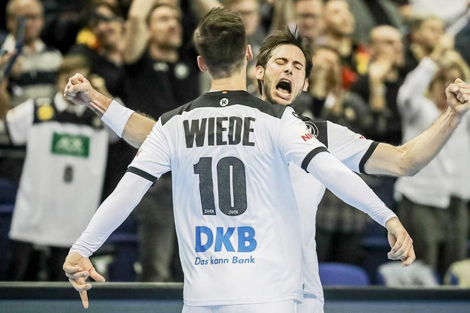 Weiter so, Jungs! Deutschland ballert sich gegen Brasilien zum nächsten WM-Sieg