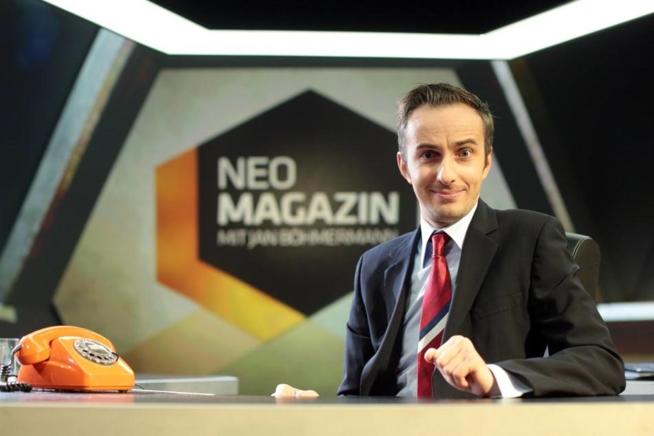 """Jan Böhmermann (35) hat mit seinem Format """"Neo Magazine Royale"""" erneut den Deutschen Fernsehpreis gewonnen."""