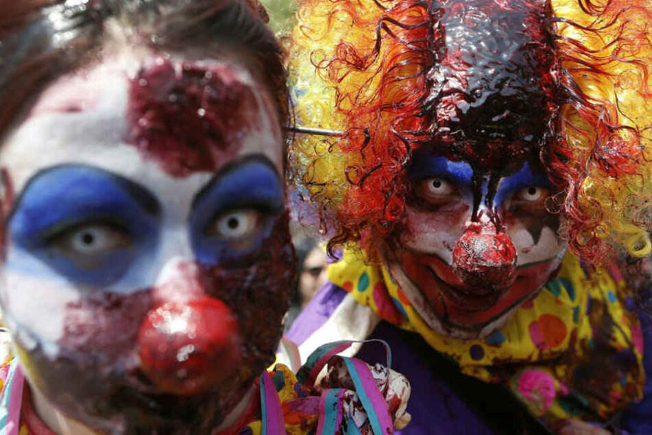 Die Anwohner wurden gewarnt, dass Clowns Kinder in den Wald lockten (Symbolbild).