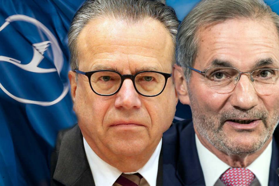 Fotomontage: Ex-Arbeitsagentur Chef Frank-Jürgen Weise (Li.) und SPD-Politiker Matthias Platzek sollen die Schlichtung auf den richtigen Weg bringen.