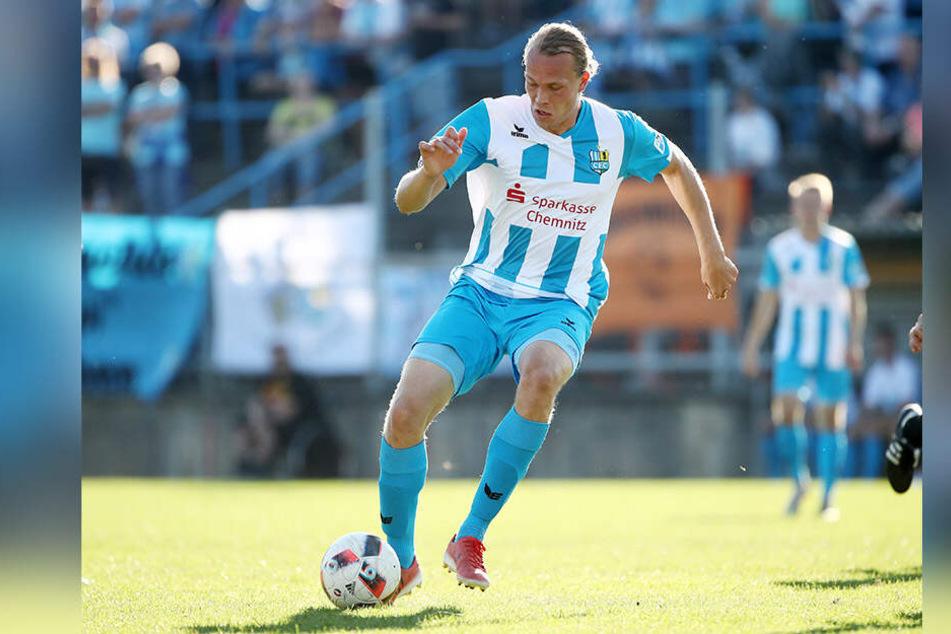 Mittelstürmer Kimmo Hovi verlässt den CFC. Der Finne schließt sich dem Liga-Konkurrenten FSV Union Fürstenwalde an.