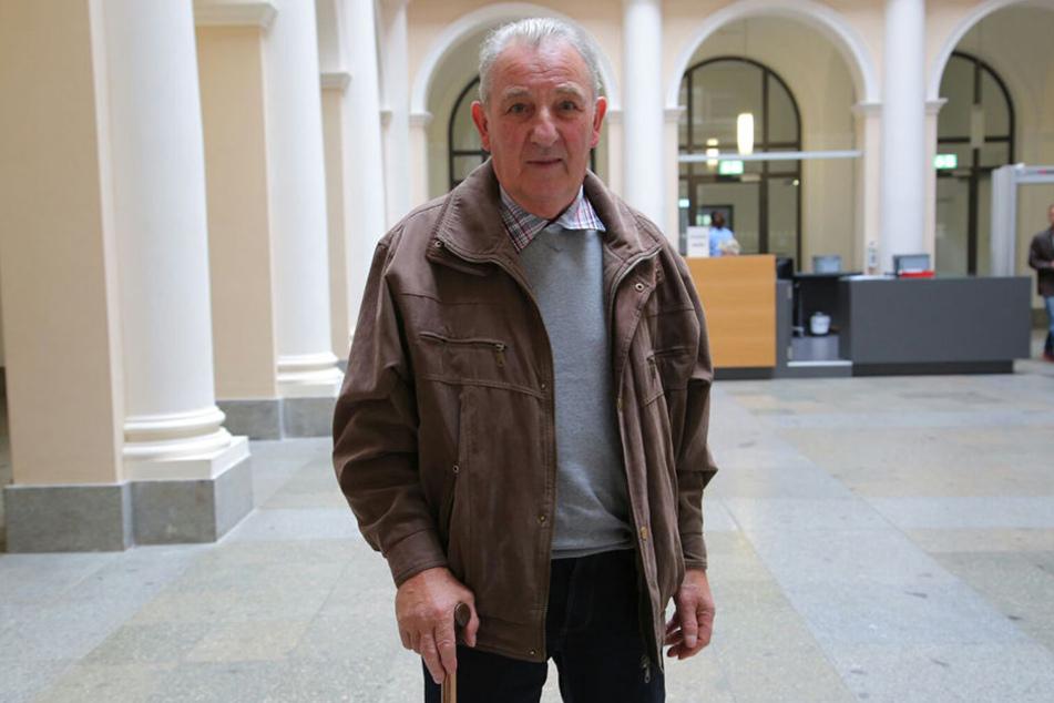 Opfer Otto Westermann (77) kann sich nicht erklären, warum der Nachbar ihn töten wollte.