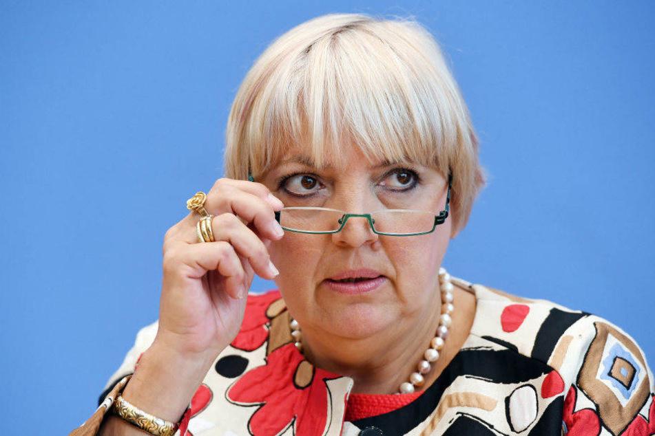 Laut Claudia Roth fühlen sich manche im Bundestag durch die AfD unsicher
