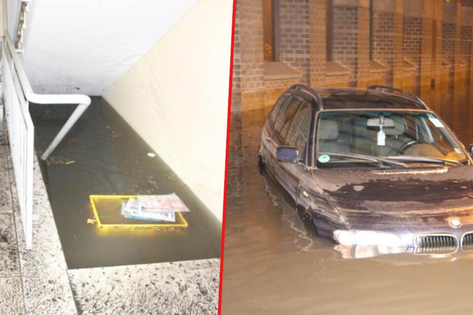 Berlin: Kiez säuft ab, Autobahn und Keller unter Wasser: Unwetter-Horror-Nacht in Berlin und Brandenburg!