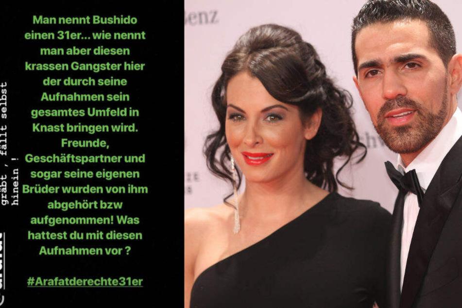 Bushido und seine Ehefrau Anna Maria Ferchichi.