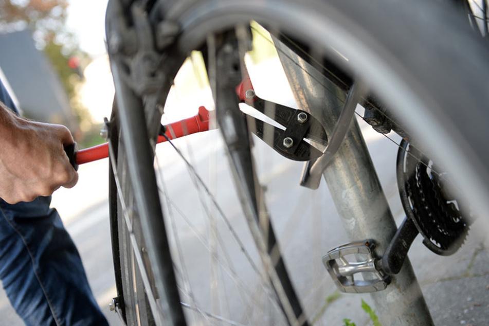Der Bolzenschneider ist noch immer der beste Freund der Fahrraddiebe.