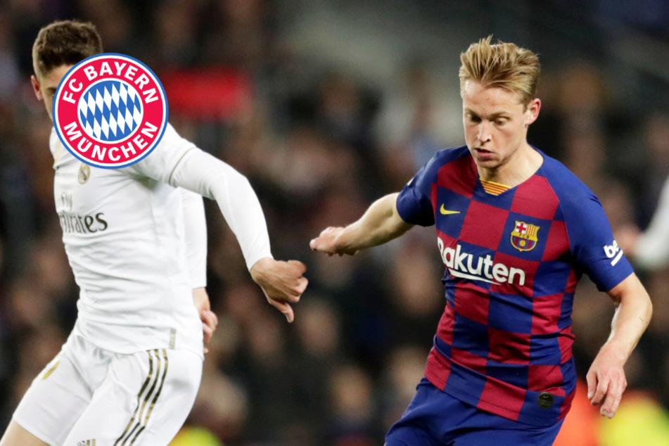 FC Bayern hat wohl Transfer-Hammer im Visier: Kommt Frenkie de Jong im Sommer?