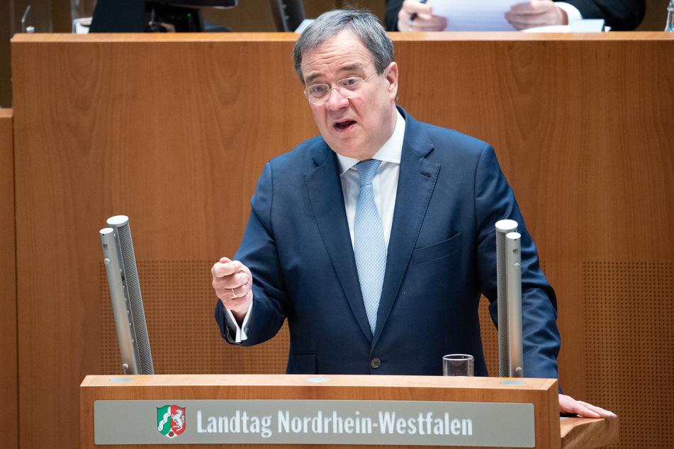 NRW-Ministerpräsident Armin Laschet (60, CDU) wird am Mittwoch im Landtag über die Bund-Länder-Beschlüsse zum Lockdown informieren.